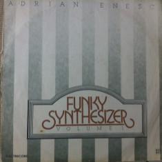 ADRIAN ENESCU Funky Synthesizer volum 1 disc vinyl lp muzica electronica funk - Muzica Jazz electrecord, VINIL