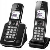 Telefon dect Panasonic KX-TGD312 Duo Negru - Telefon fix