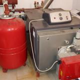 Centrala RIELLO RTQ 154 KW/Arzător RIELLO BS4D 1/230/50, Boiler800 litri - Centrala termica