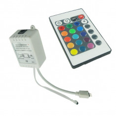 RGB LED IR Remote Controller 24 buttons + cabinet Male AL822 - Moving heads club