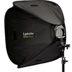 Blitz dedicat - Pachet Lastolite Ezybox Hotshoe 54 x 54cm cu prindere + Lastolite LS1158 Stativ