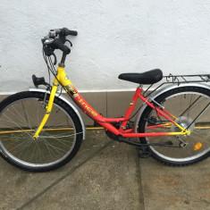 Bicicleta De Dama, 15 inch, 24 inch, Numar viteze: 21 - 44 Bicicleta treisfert Prince second-hand, Germania R24