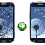 Gevey SIM - Inlocuire Geam Sticla Samsung I9300 Galaxy S3 Negru