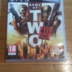 Jocuri PS3 Ubisoft, Shooting, 16+, Multiplayer - JOC PS3 ARMY OF TWO THE 40th DAY ORIGINAL / by WADDER