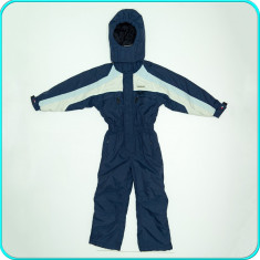 Combinezon tip salopeta ski / iarna, gros, TRESPASS _ baieti | 7 - 8 ani | 128, Marime: Alta, Culoare: Bleumarin