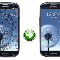 Inlocuire Geam Sticla Samsung I9300 Galaxy S3 Albastru - Reparatie telefon