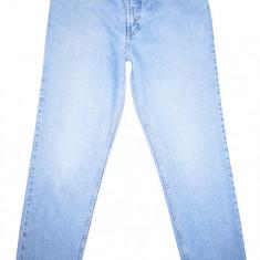 Blugi GREEN LABEL - (MARIME: 34 x 34) - Talie = 88 CM, Lungime = 117 CM - Blugi barbati H&m, Culoare: Albastru, Prespalat, Drepti, Normal