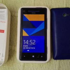 Telefon mobil HTC 8X, Albastru, Neblocat - Telefon HTC 8x Windows Phone Blue