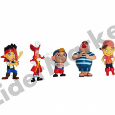 Set 5 figurine Jake si Piratii- colectioneaza toate personajele ! - Figurina Desene animate