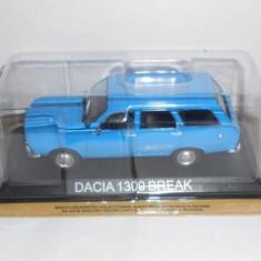 Macheta auto, 1:43 - 3532.Macheta Dacia 1300 Break Masini de Legenda scara 1:43