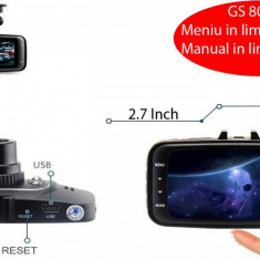 DVR Camera video auto ZDM Masina GS8000L Full HD 1080p, 2, 7