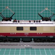 Macheta Feroviara, 1:87, HO, Locomotive - Locomotiva electrica SBB 10050 marca Lima scara HO(4485)