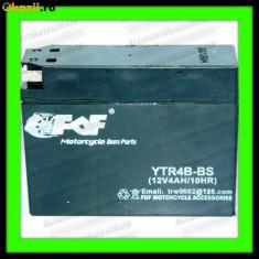 Acumulatori Moto - BATERIE MOTO 4Ah 12V Inalta-Ingusta 4A (fara intretinere) Baterie ATV 4Ah SCUTER