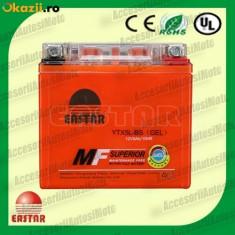 Acumulatori Moto - BATERIE Scuter 5AH 12V 5 Amperi Acumulator 5 Ah cu GEL fara intretinere