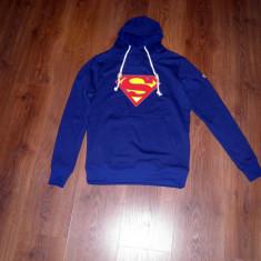 Hanorac Superman - Hanorac barbati, Marime: S, M, L, Culoare: Bleumarin, Bumbac