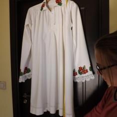 Costum popular - Camasa taraneasca de sarbatoare, ptr.barbati, din zona Bistrita.Rereducere!