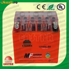 Acumulatori Moto - BATERIE Scuter 9AH 12V 9 Amperi INALTA Acumulator 9 Ah cu GEL fara intretinere