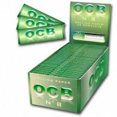 Foite tigari - Foite OCB ( VERDE ) pentru rulat tutun sau tigari