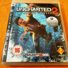 Jocuri PS3 Sony, Actiune, 16+, Single player - Joc Uncharted 2 Among Thieves, PS3, original, 34.99 lei!