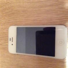 iPhone 4 Apple, Alb, 8GB, Orange