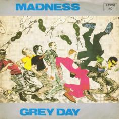 Muzica Rock, VINIL - Madness - Grey Day (1981, Stiff) Disc vinil single 7