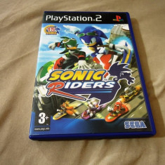 Joc Sonic Riders, PS2, original, 33.99 lei(gamestore)! - Jocuri PS2 Sega, Actiune, 3+, Single player