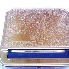 Aparat rulat tigari - APARAT de RULAT CU TABACHERA STRONG BOX 4 pentru rulat tutun / tigari