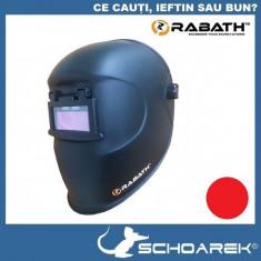 ► Masca de sudura COMPLET Automata - RABATH Black Flip | cu cristale lichide