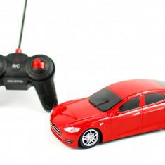 Vehicul - Masina de jucarie cu radio comanda 1:18 - Masinuta rosie sport pentru copilul tau