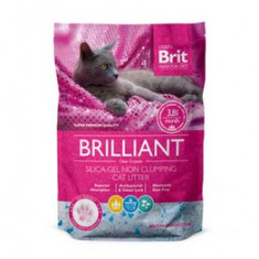 Pisica - Brit nisip silicat 3.8 l