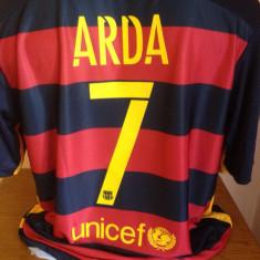 Tricou echipa fotbal, De club, Barcelona, Maneca scurta - TRICOU ARDA TURAN FC.BARCELONA SEZON 2015-2016 MARIMI M SI L