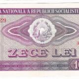 1) Bancnota 10 Lei 1966 VF+