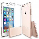 Husa silicon Apple iPhone 6s Usams Ease aurie Blister Originala