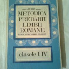 Carte Psihologie - METODICA PREDARII LIMBII ROMANE ( cls.1 - 4 ) ~ ION BERCA / IONESCU MARIA ELIZA