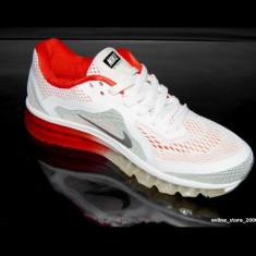 Adidasi barbati - Adidasi Nike AIR MAX AIRMAX 90 alb-rosu.NEW COLLECTION 2016. Livrare imediata !