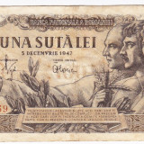 Bancnota 100 lei 5 decembrie 1947 (6), An: 1947