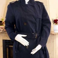 Jacheta dama, Bumbac - Jacheta bleumarin din bumbac cu cordon (dama) - marime L