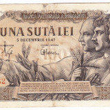 Bancnota 100 lei 5 decembrie 1947 (9), An: 1947
