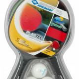 Set tenis de masa 2 palete 3 mingi Control Playtec - Paleta ping pong