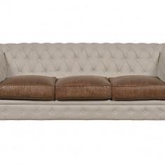 Canapea Beige 3 locuri