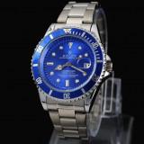 CEAS ROLEX SUBMARINER SILVER&BLUE-SUPERB-PRET IMBATABIL-CALITATEA 1-POZE REALE - Ceas barbatesc Rolex, Elegant, Quartz, Inox, Data