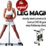 Aparat multifunctionale fitness - LEG MAGIC, aparat de fitness pentru picioare si fese