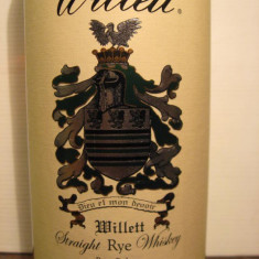 Whisky - R A R E Whiskey willett, 4 years, cl.75 gr. 55 U.S.A. sticla 135/204