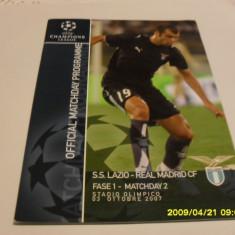 Program Lazio - Real Madrid - Program meci