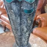superb suport vechi pentru umbrele si bastoane din cupru  /amfora /vaza