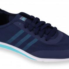 Adidasi barbati - Pantofi Sport Femei, Adidas, Stil Racer TM, Bleumarin-37 1/3