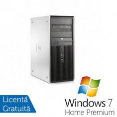 Sisteme desktop fara monitor - HP DC7800 Tower, Intel Core 2 Duo E7200 2.53Ghz, 2Gb, 80Gb SATA, DVD-ROM + Windows 7 Home Premium