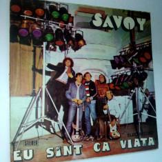 Disc vinil \ vinyl SAVOY - Eu sunt ca viata - Electrecord - Muzica Pop