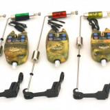 Set 5 senzori Oxygen TLI01 cu 5 swingere cu contragreutate si led - Avertizor pescuit