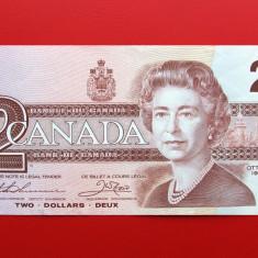 CANADA - 2 Dollars 1986 - bancnota america